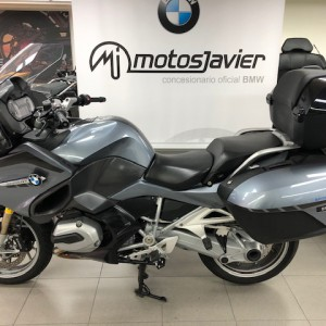 BMW R1200RT Azul top case negro (1)